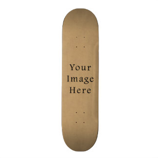 Vintage Buckskin Brown Parchment Paper Background Skateboard Decks