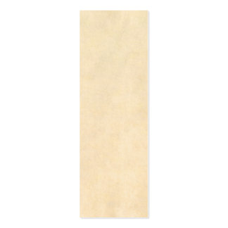 Vintage Buckskin Parchment Tan Brown Antique Paper Double-Sided Mini Business Cards (Pack Of 20)