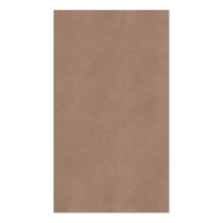 Vintage Buckskin Parchment Tan Brown Antique Paper Pack Of Standard Business Cards