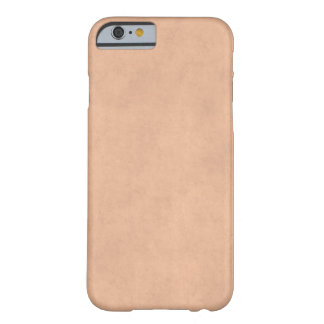 Vintage Buckskin Parchment Tan Brown Antique Paper Barely There iPhone 6 Case
