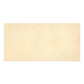 Vintage Buckskin Parchment Tan Brown Antique Paper Custom Photo Card