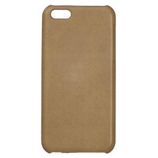 Vintage Buckskin Parchment Tan Brown Antique Paper iPhone 5C Cover