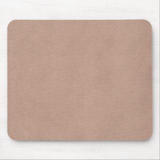 Vintage Buckskin Parchment Tan Brown Antique Paper Mouse Pad