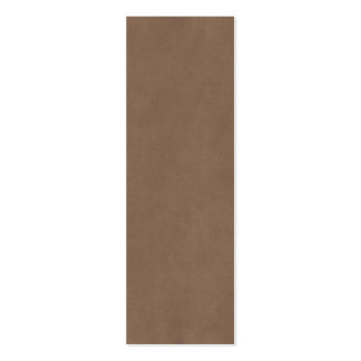 Vintage Buckskin Parchment Tan Brown Antique Paper Pack Of Skinny Business Cards