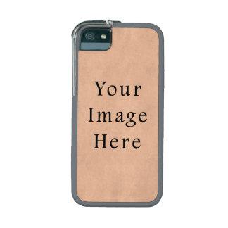 Vintage Buckskin Pink Parchment Paper Background iPhone 5/5S Case