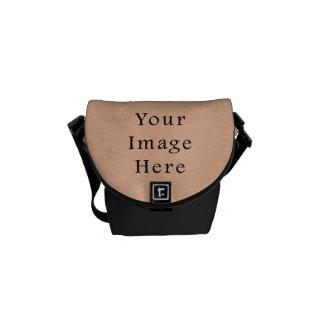 Vintage Buckskin Pink Parchment Paper Background Messenger Bags