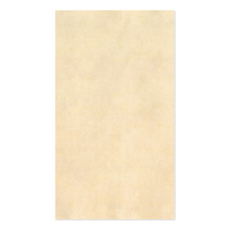 Vintage Buckskin Tan Leather Parchment Template Pack Of Standard Business Cards