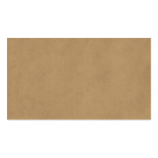 Vintage Buckskin Tan Light Brown Parchment Paper Pack Of Standard Business Cards