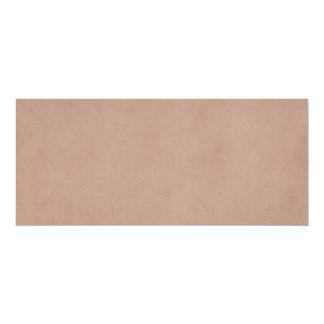 Vintage Buckskin Tan Old Leather Parchment Paper 10 Cm X 24 Cm Invitation Card