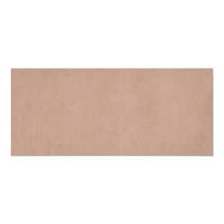 Vintage Buckskin Tan Old Leather Parchment Paper Card