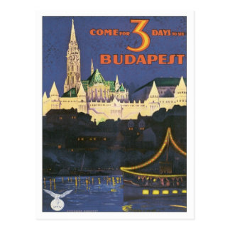 Vintage Budapest Hungary Post Cards