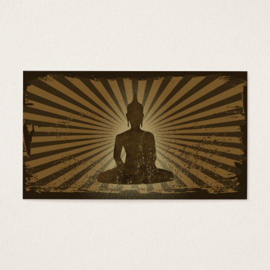 vintage Buddha Business Card