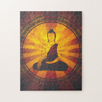 Vintage Buddha Jigsaw Puzzle