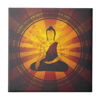 Vintage Buddha Tile