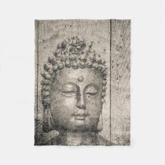 Vintage Buddha Yoga Faith Fleece Blanket