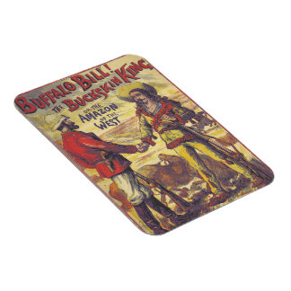 Vintage Buffalo Bill magnet