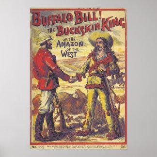 Vintage Buffalo Bill Poster
