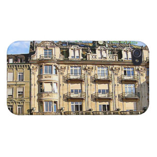 Vintage buildings, Lucerne Covers For iPhone 4