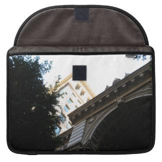 Vintage Buildings Sleeve For MacBook Pro