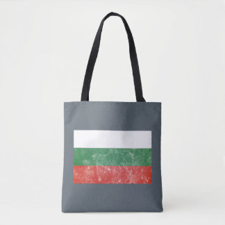 Vintage Bulgarian Flag Tote Bag