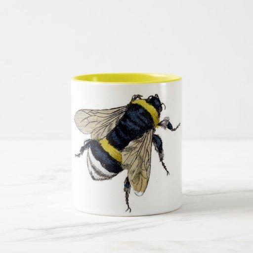Vintage Bumble Bee Mug