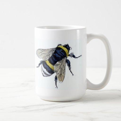 Vintage Bumblebee Mug
