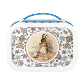Vintage Bunny Easter Gift Kids' Lunch Box