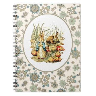 Vintage Bunny Easter Gift Notebooks