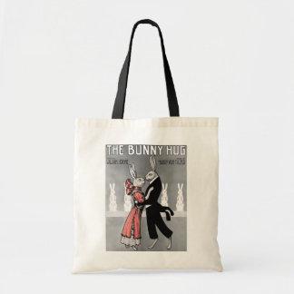 Vintage Bunny  Hug Tote Bag