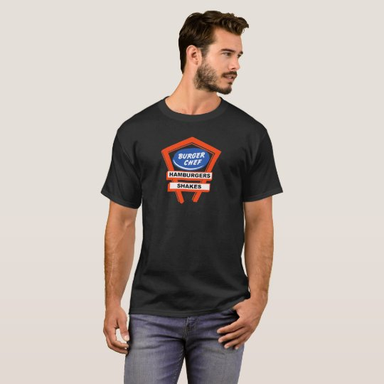 Vintage Burger Chef brand restaurant design T-Shirt