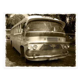 Vintage bus RK Malta Postcard