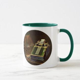 Vintage Business Accountant, Accounting Machine Mug