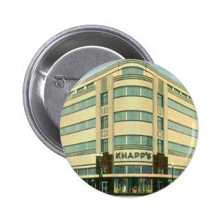 Vintage Business, Knapp's Department Store 6 Cm Round Badge