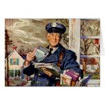 Vintage Business, Mailman Mail Carrier Delivering