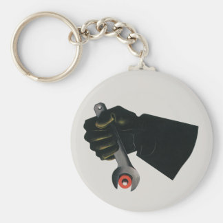 Vintage Business, Manufacturing Factory Machinist Key Ring
