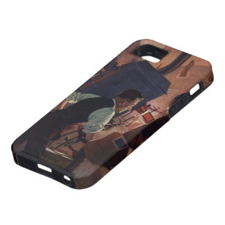 Vintage Business, Movie Theater Projectionist iPhone 5 Covers