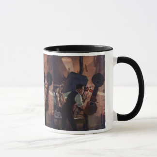 Vintage Business, Movie Theater Projectionist Mug