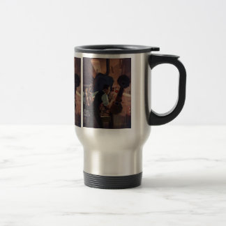 Vintage Business, Movie Theater Projectionist Travel Mug
