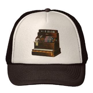 Vintage Business Old Fashioned Cash Register Trucker Hat