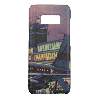 Vintage Business Passengers on Airplane at Airport Case-Mate Samsung Galaxy S8 Case