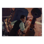 Vintage Business, Projectionist in a Movie Theatre