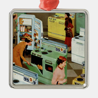 Vintage Business Retail, Appliance Showroom Store Christmas Ornament