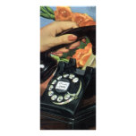 Vintage Business, Rotary Dial Phone Woman Hand