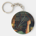 Vintage Business, Switchboard Operator Occupation Key Chains