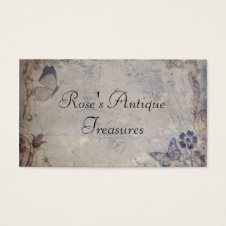 Vintage Butterflies Business Card