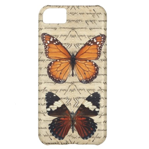 Vintage butterflies collection iPhone 5C covers