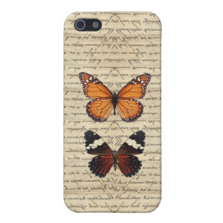 Vintage butterflies collection iPhone 5/5S cases