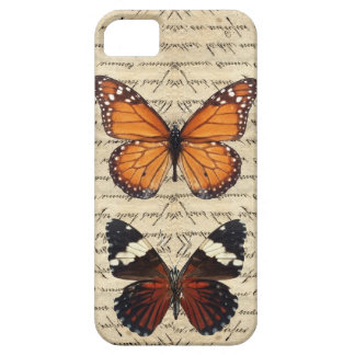 Vintage butterflies collection iPhone 5 case