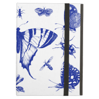 Vintage Butterflies in Blue Cover For iPad Air