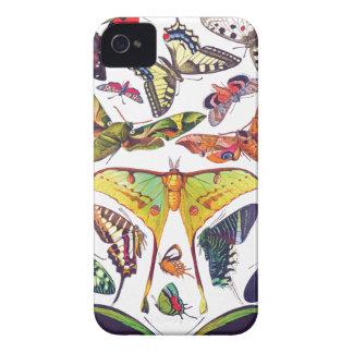 Vintage Butterflies iPhone 4 Case